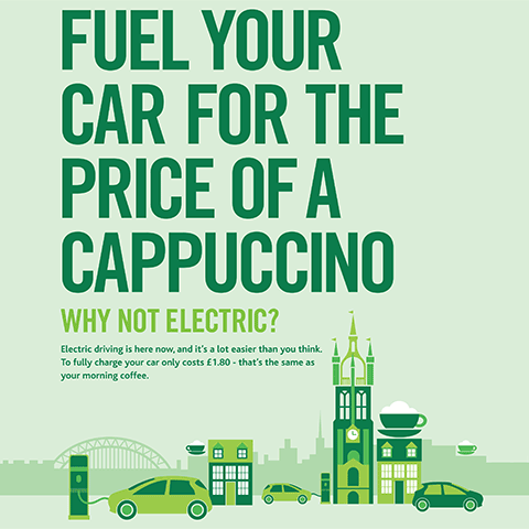 Why Not Electric campaign by Anya Bramich